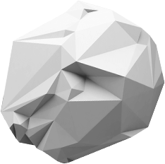 Dekobild Polygon