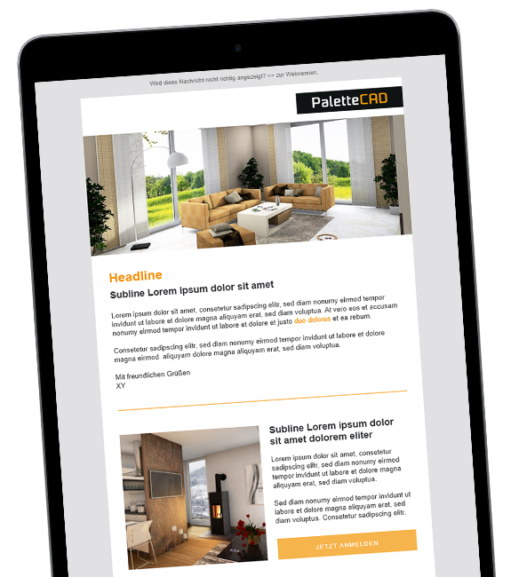 PaletteCAD E-Mail-Marketing